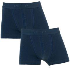 jongens basic 2-pack trunks blauw