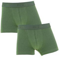 jongens basic 2-pack trunks groen