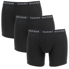 3-pack long boxers basic logotaille zwart